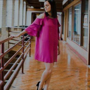 Shuffle Ruffle Dress